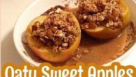Sweet Oat Filled Apples