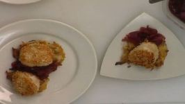 Scallops, Griddle Cakes and Onion Confit