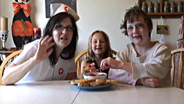 Title 2 Kids Cooking TV Snackulas (aka Tomato Basil Crostini)