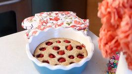 How to Make Strawberry Almond Pie - (No Crust Needed)