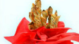 Culinary Carrie Sesame Cheese Straws