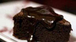 Easy Mud Cake With Chocolate Ganache