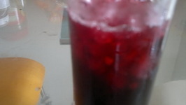 Roselle juice - Hibiscus flower drink
