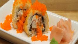 How to Make Sushi - Orange Rolls