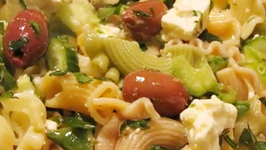 Easy Pasta Salad - Mediterranean Pasta Salad
