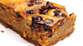 100-Calorie Pumpkin Pie Bars Dessert