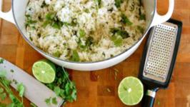 Coconut Lime Cilantro Rice