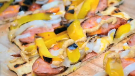 Grilled Flat Bread Pizza