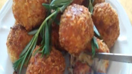 Throwback Thursdays Bacon Cheese Fritters