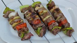 Italian Pork Kebabs