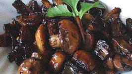 Mushrooms with Port Wine and Balsamic Sauce
