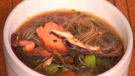 Healthy and Delicious Miso Salmon Soup