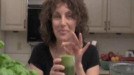 Angie's Cinnamon Chard Green Smoothie