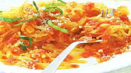 Wegmans Spaghetti Squash with Pomodoro Sauce