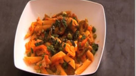 Peas and Pepper Pasta