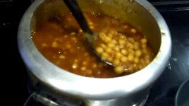 Punjabi Chole  Chickpea Curry  Chana Masala  Garbanzo Beans Indian