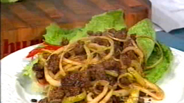 Savoury Mince with Onions and Bitter Gourd - Cooking Made Simple by Belucci