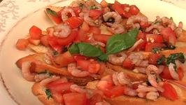 Easy Shrimp Bruschetta