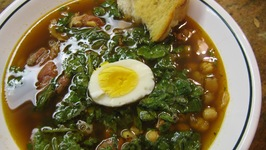 Fava Bean and Chickpea Soup from Andalusia