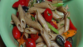 Pasta Salad with Balsamic Vinaigrette - Vegan
