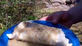 Outdoor Burritos Ranchero Chile Verde