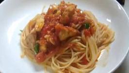 Tangy Swordfish Pasta