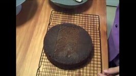 Chocolate Cake with White Chocolate Mousse Part 1  - Preparation