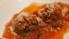 Betty's Meatballs and Tomato Sauce