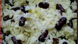 Solar Cooked Jamaican Rice with Red Beans