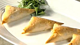 Appetizer Recipes How to Make Cheese and Onion Pastry Appetizers