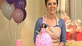 Princess Cake - How to Make a Princess Doll Birthday Cake