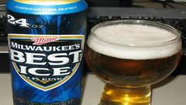Milwaukee Best Ice 5.9 Beer Review by Miller