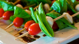 90 Second Caprese Salad