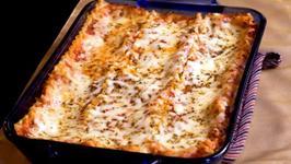 Low Calorie Mock Meatball Lasagna