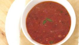 Minted Watermelon Soup
