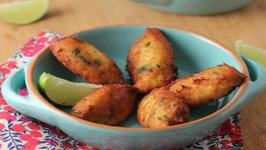 How to Make Cod Fritters - Bolinho de Bacalhau