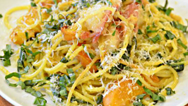 Early Branch Peach Apricot Pesto Pasta