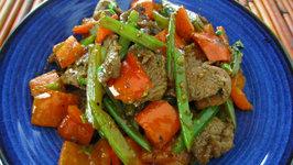 Cumin Beef with Celery