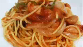 Delicious Pasta with Tomato Ketchup