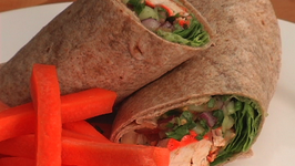 Tandoori Chicken And Cucumber Wrap