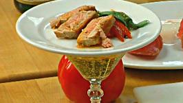 Tuna And Roasted Pepper Tapas