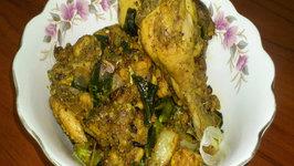Chicken Mozhu Fry