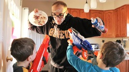 Nerf War  Food Fight 2