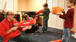 Nerf War  Mail Time Mayhem 39