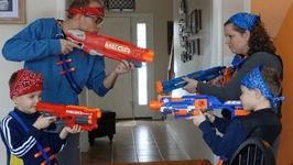Nerf War  Mega vs Elite