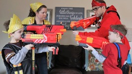 Nerf War  Mega Vs Rival