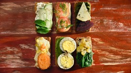 Rusk Open Sandwiches Recipe  How to Make Rusk Open Sandwiches