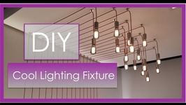 Interior Design  DIY Lighting Fixture