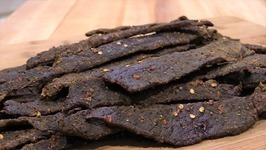 Peppered Beef Jerky in the Oven