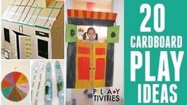 20 Ways To Play With Cardboard